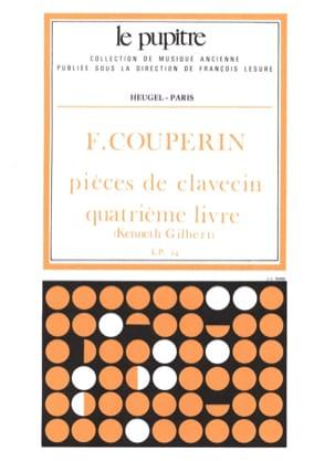 Pièces de Clavecin. Livre 4 Couperin François Partition laflutedepan