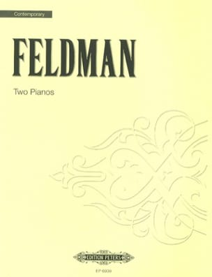 Two Pianos Morton Feldman Partition Piano - laflutedepan