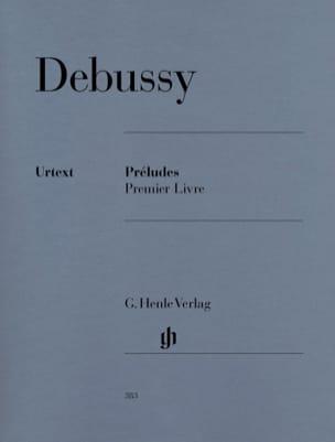 Préludes. 1er Livre DEBUSSY Partition Piano - laflutedepan