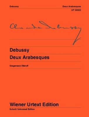 2 Arabesques DEBUSSY Partition Piano - laflutedepan