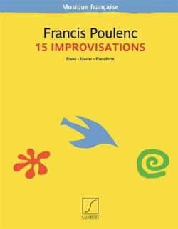 15 Improvisations - POULENC - Partition - Piano - laflutedepan.com