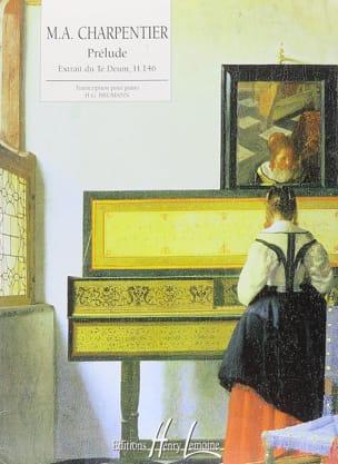 Prélude du Te Deum CHARPENTIER Partition Piano - laflutedepan