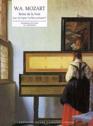 La Reine de la Nuit MOZART Partition Piano - laflutedepan