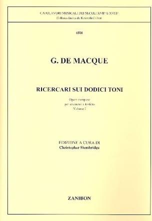 Ricercari sui 12 Toni - Volume 1 - laflutedepan.com