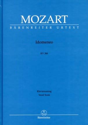 MOZART - Idomeneo K 366. Urtext - Partition - di-arezzo.es