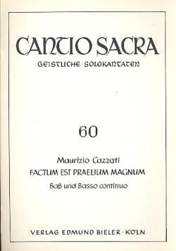 Factum Est Praelium Magnum Maurizio Cazzati Partition laflutedepan