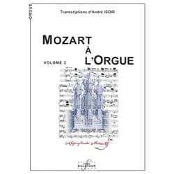 Mozart à l'Orgue Volume 2 MOZART Partition Orgue - laflutedepan