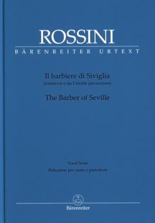Il Barbiere Di Siviglia ROSSINI Partition Opéras - laflutedepan