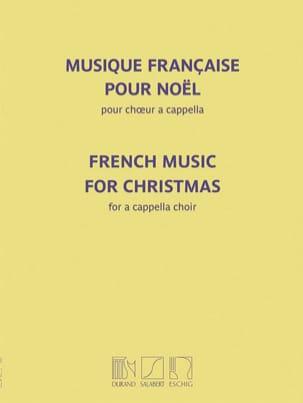 Musique française pour Noël Partition Chœur - laflutedepan