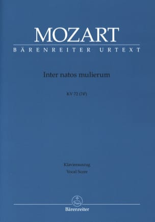 Inter Natos Mulierum. Offertorium de S. Joanne Baptista. K 72. - laflutedepan.com