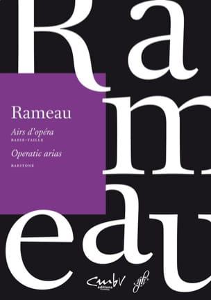 Jean-Philippe Rameau - Opera tunes. Low size - Partition - di-arezzo.com