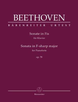 Sonate pour Piano n° 24 fa dièse majeur Opus 78 - laflutedepan.com