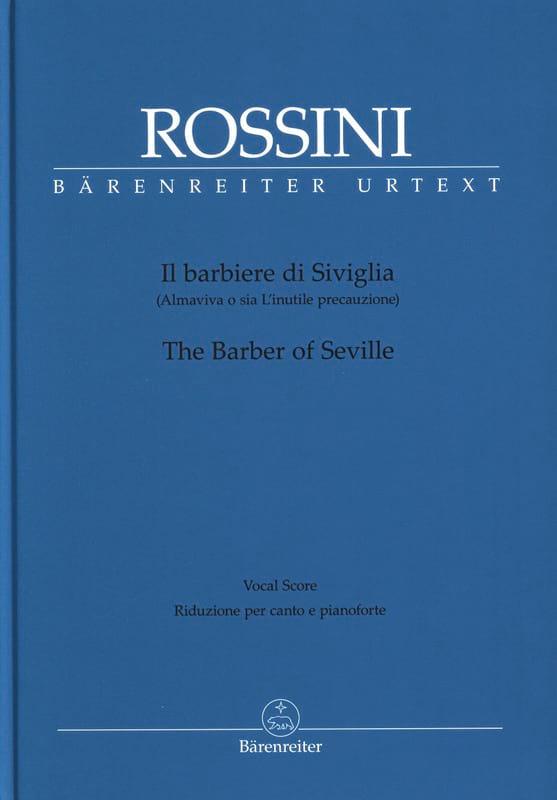 Il Barbiere Di Siviglia - ROSSINI - Partition - laflutedepan.com