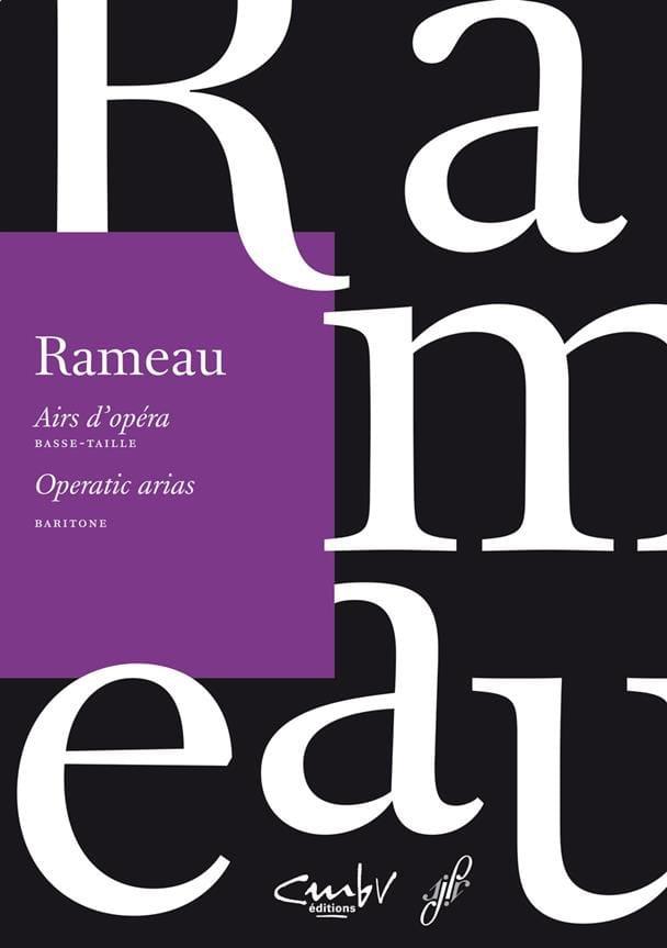 Airs d'opéra. Basse taille - RAMEAU - Partition - laflutedepan.com