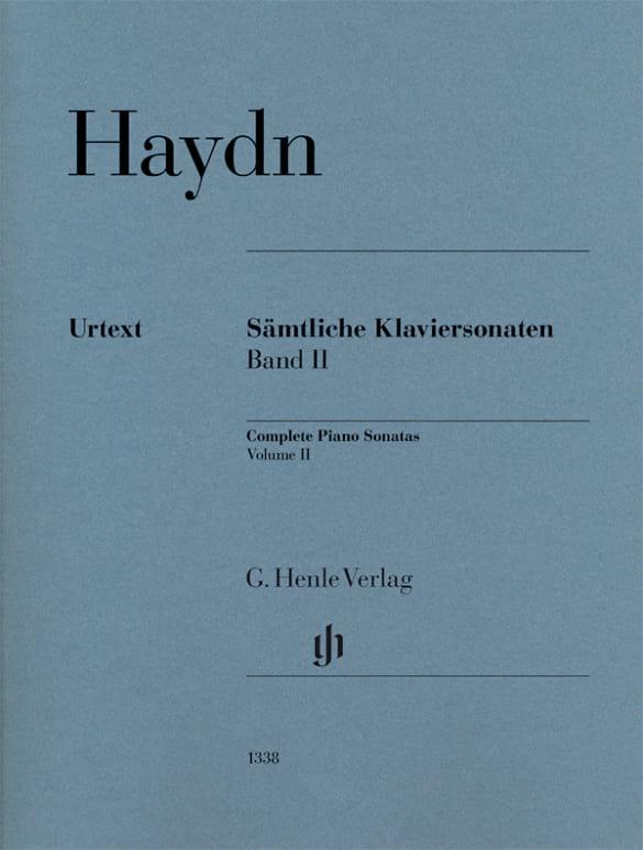 Sonates Pour Piano - Volume 2 - HAYDN - Partition - laflutedepan.com