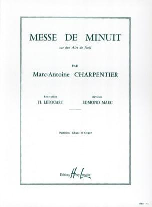 Messe de Minuit H 9 CHARPENTIER Partition Chœur - laflutedepan