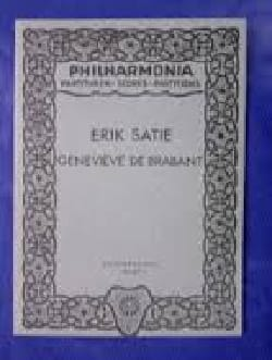 Genevieve de Brabant SATIE Partition Opéras - laflutedepan