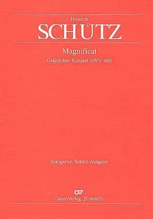 Magnificat Swv 468 SCHUTZ Partition Chœur - laflutedepan