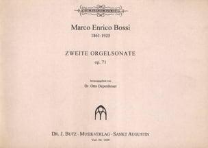 Sonate 2 Op. 71 Marco Enrico Bossi Partition Orgue - laflutedepan