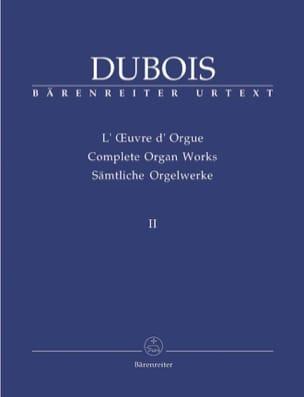 Oeuvre D'orgue. Volume 2 Théodore Dubois Partition laflutedepan