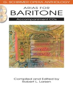 Opera Anthology : Arias Pour Baryton Accompaniment CD's laflutedepan