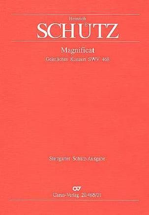 Magnificat Swv 468 - SCHUTZ - Partition - Chœur - laflutedepan.com