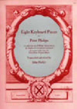 8 Pièces - Peter Philips - Partition - Clavecin - laflutedepan.com
