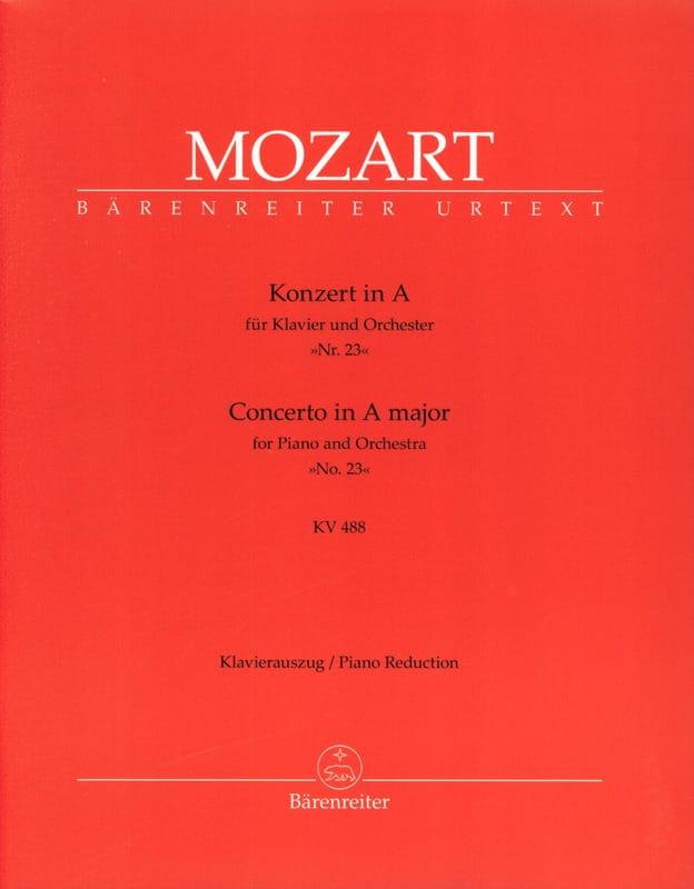 Concerto Pour Piano N° 23 En la Majeur KV 488 - laflutedepan.com