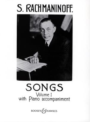 Songs Volume 1 RACHMANINOV Partition Mélodies - laflutedepan