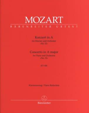 Concerto Pour Piano N° 12 En la Majeur K 414 MOZART laflutedepan