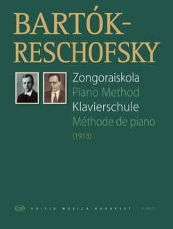Bartok-Reschofsky - Méthode de Piano - Partition - di-arezzo.fr