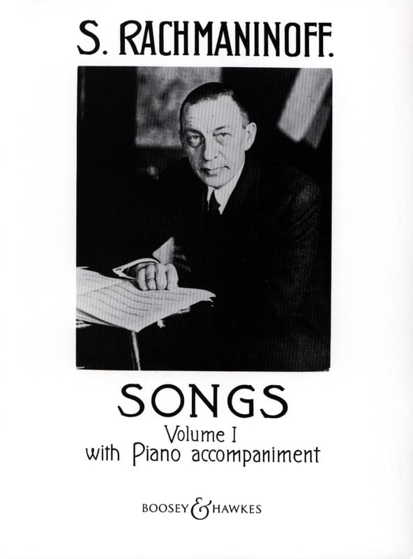 Songs Volume 1 - RACHMANINOV - Partition - Mélodies - laflutedepan.com
