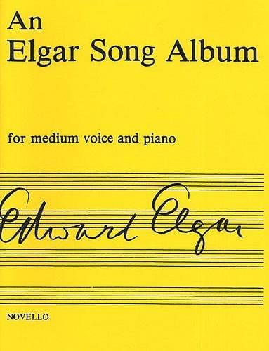 An Elgar Song Album - ELGAR - Partition - Mélodies - laflutedepan.com