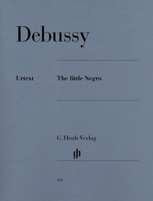 The Little Negro DEBUSSY Partition Piano - laflutedepan