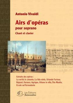 Airs d'Opéras pour Soprano VIVALDI Partition Opéras - laflutedepan