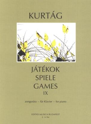 György Kurtag - Jatekok Volume 9 - Partition - di-arezzo.com