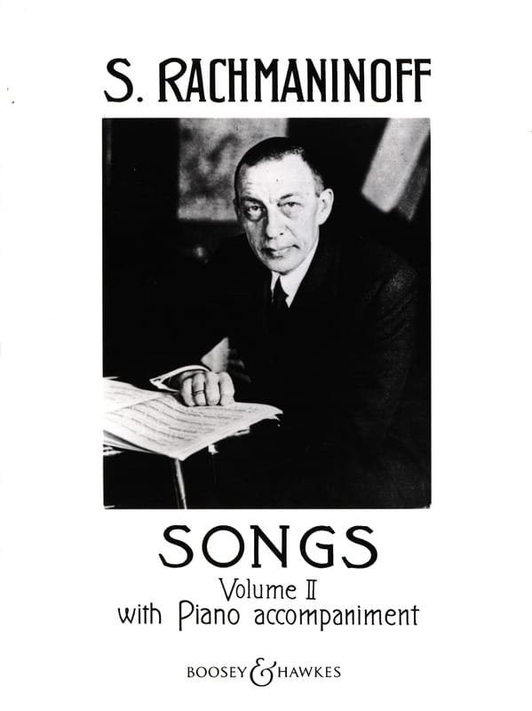 Songs Volume 2 - RACHMANINOV - Partition - Mélodies - laflutedepan.com