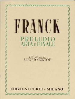 Prélude, Aria et Finale. - FRANCK - Partition - laflutedepan.com