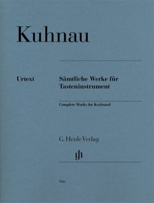 Oeuvres complètes pour instrument à clavier Johann Kuhnau laflutedepan
