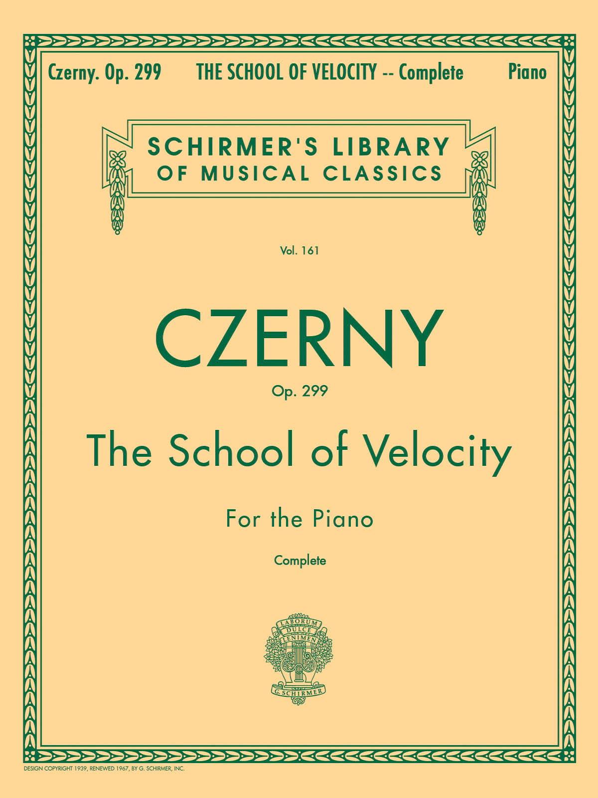Ecole de la Vélocité Opus 299 - CZERNY - Partition - laflutedepan.com