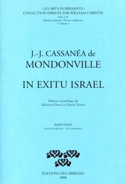 In Exitu Israel. Conducteur laflutedepan