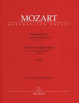 Concerto Pour Piano N° 15 En Si Bémol Majeur K 450 MOZART laflutedepan
