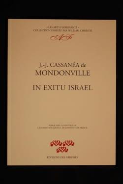 In Exitu Israël. Conducteur laflutedepan