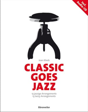 Classical Goes Jazz Jean Kleeb Partition Piano - laflutedepan