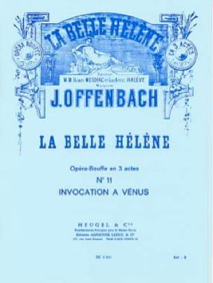 Invocation A Vénus. la Belle Hélène - OFFENBACH - laflutedepan.com