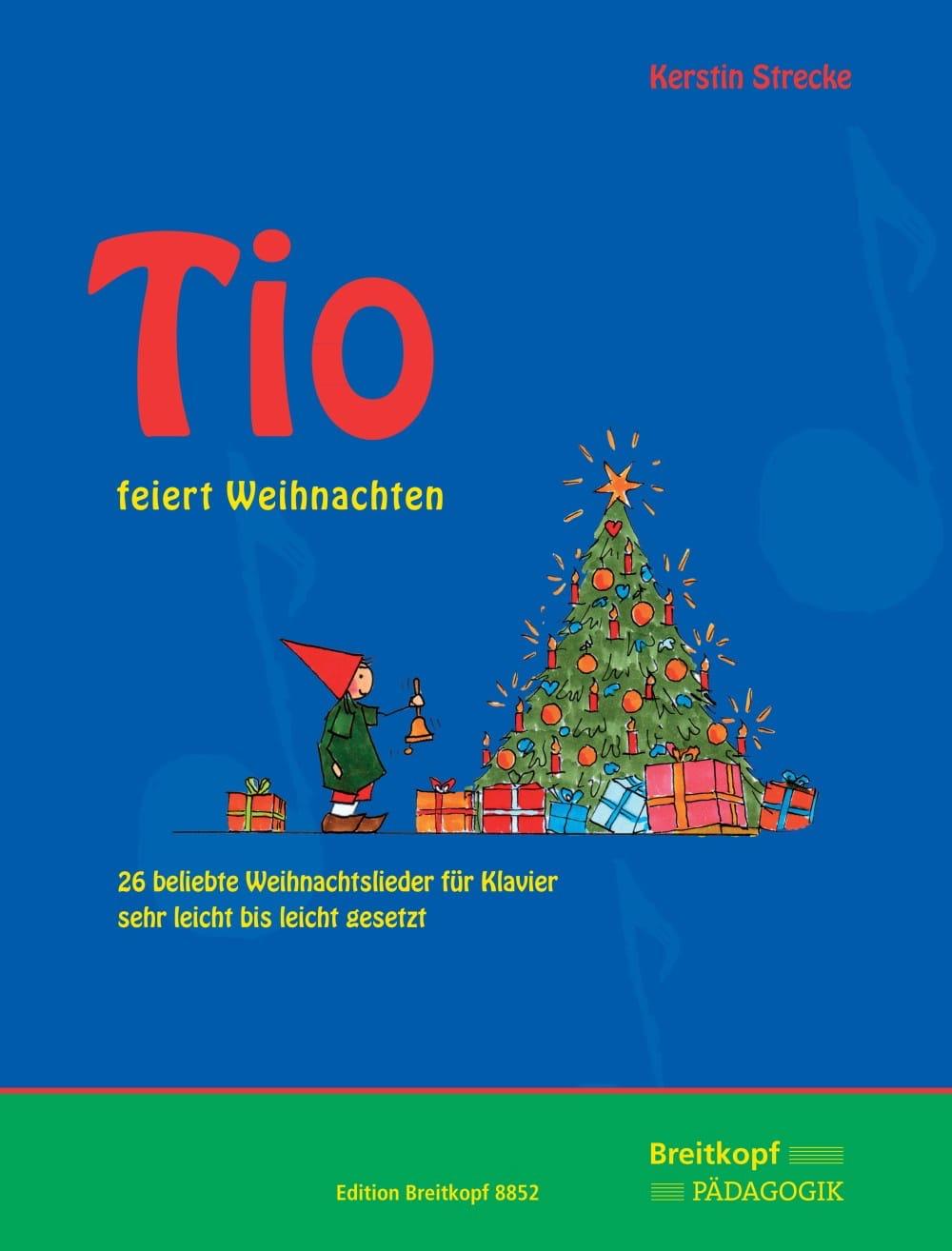 Tio feiert Weihnachten - Partition - Piano - laflutedepan.com