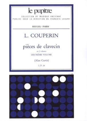 Pièces De Clavecin. Volume 2 Couperin Louis / Curtis Alan laflutedepan