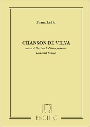 Franz Lehar - Song of Vilya. Happy Widow - Partition - di-arezzo.co.uk