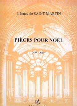 Pièces Pour Noël Léonce de Saint-Martin Partition Orgue - laflutedepan