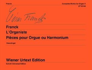 L'Organiste FRANCK Partition Orgue - laflutedepan